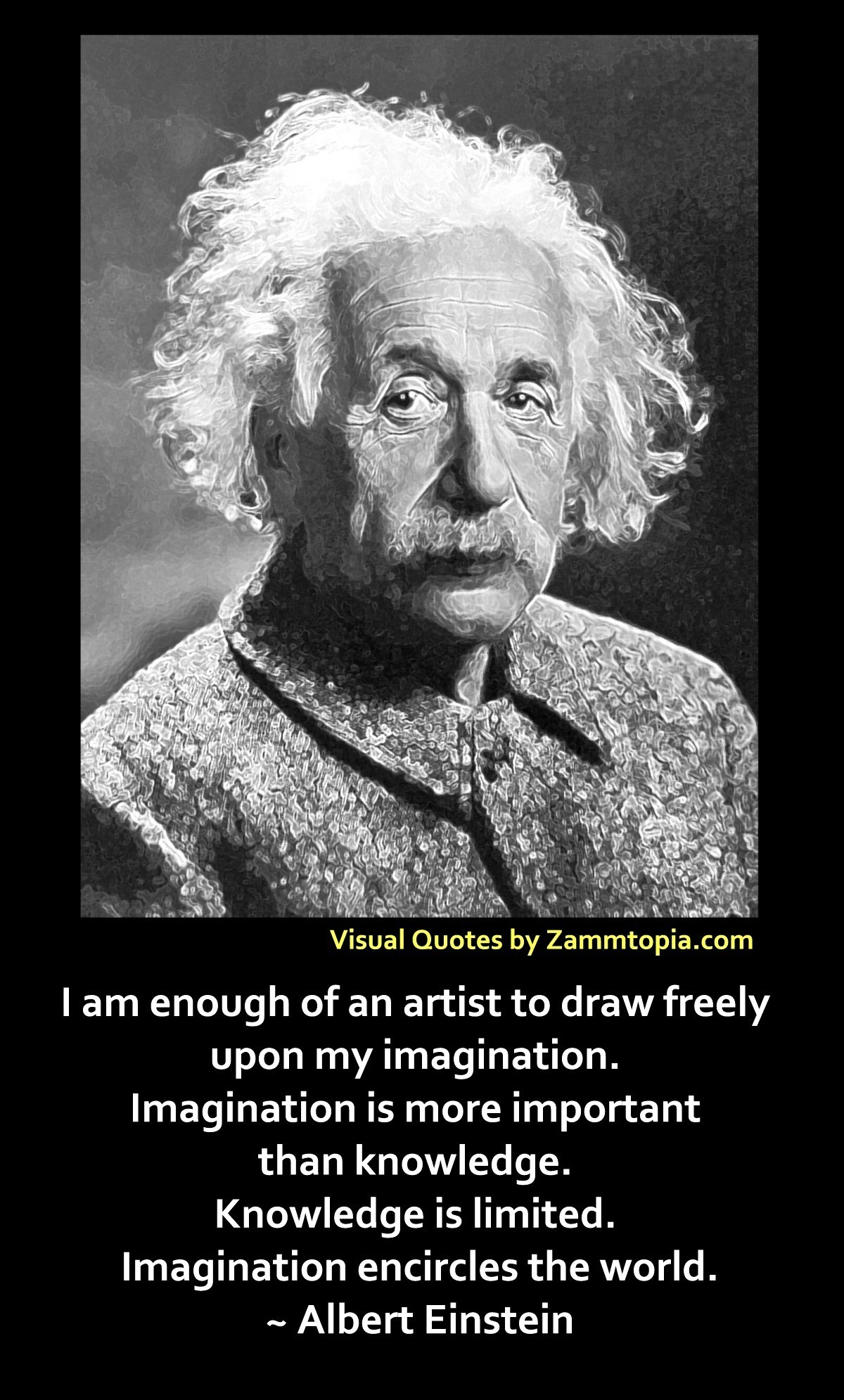 Einstein of Imagination