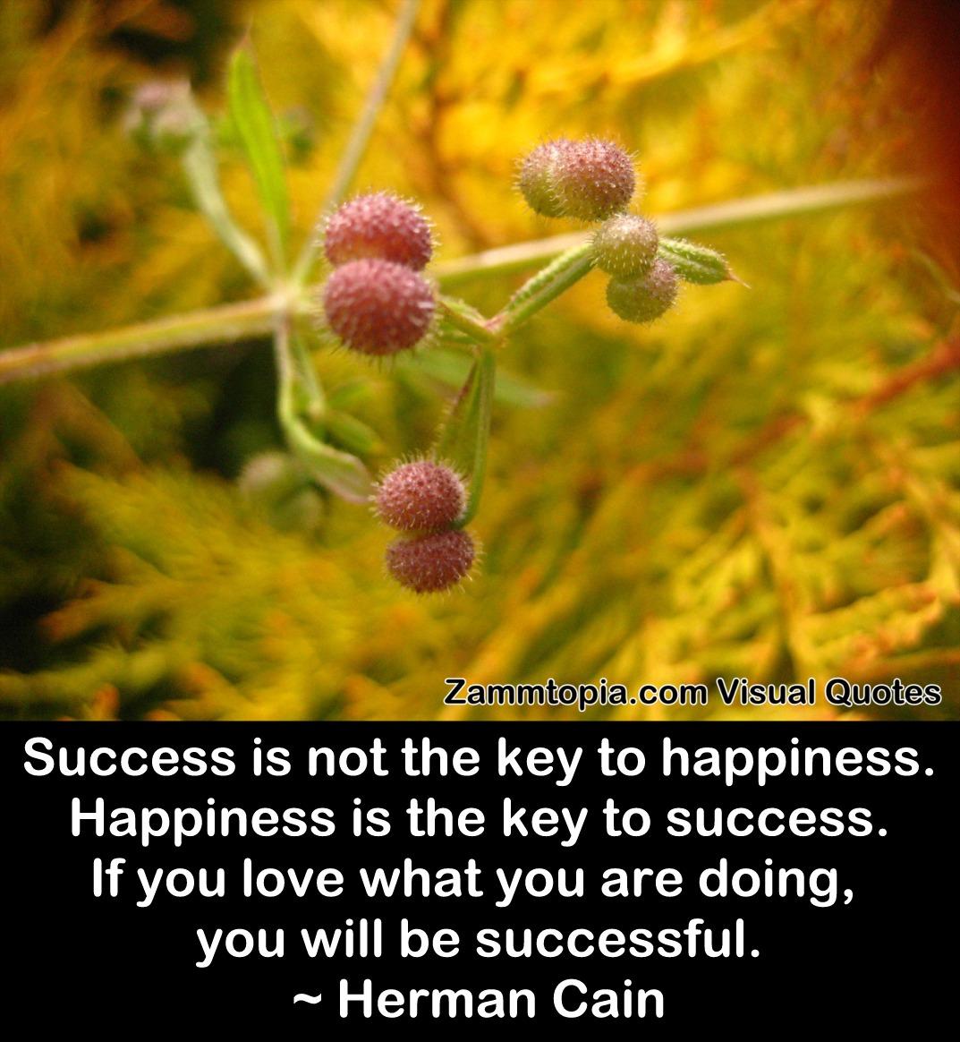 Herman Cain on Success